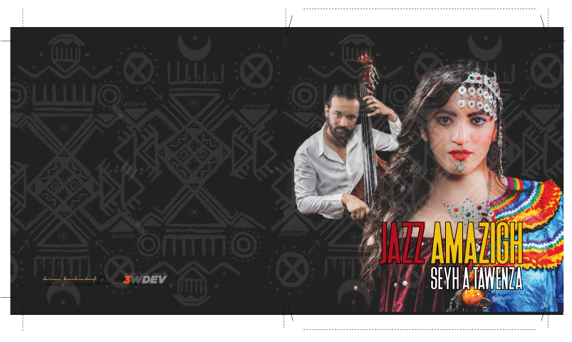 Jazz Amazigh –  Design et promo de l'album