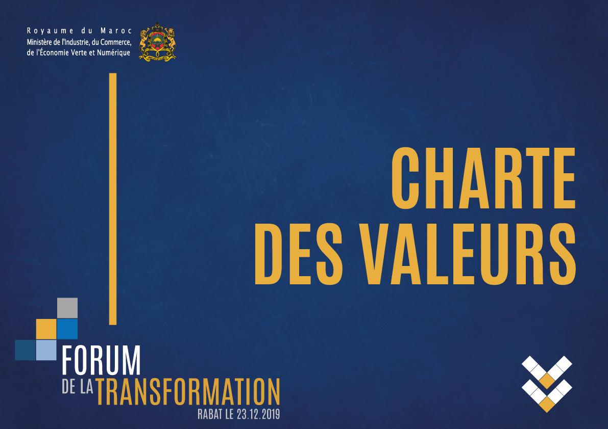 Le forum de la Transformation du ministère de l'Industrie, du Commerce, de l'Economie Verte et Numérique
