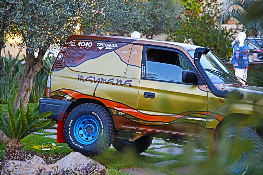 Maymana au Rallye des Gazelles