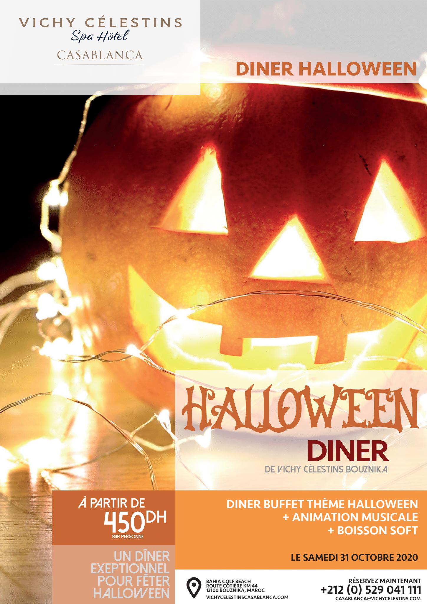 Vichy Célestins – Campagne diner du Halloween
