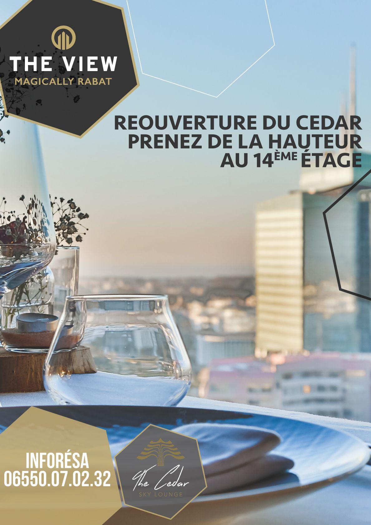 The View- Campagne Réouverture du Cedar