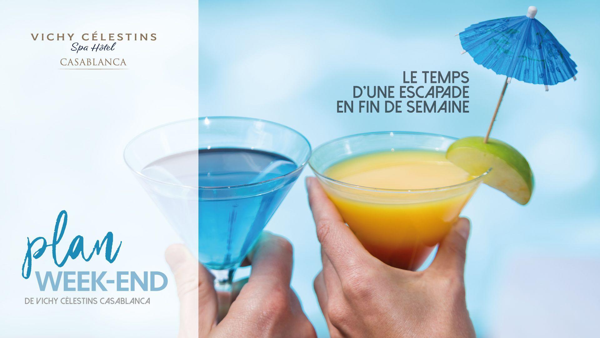 Vichy Célestins – Campagne Plan Weekend