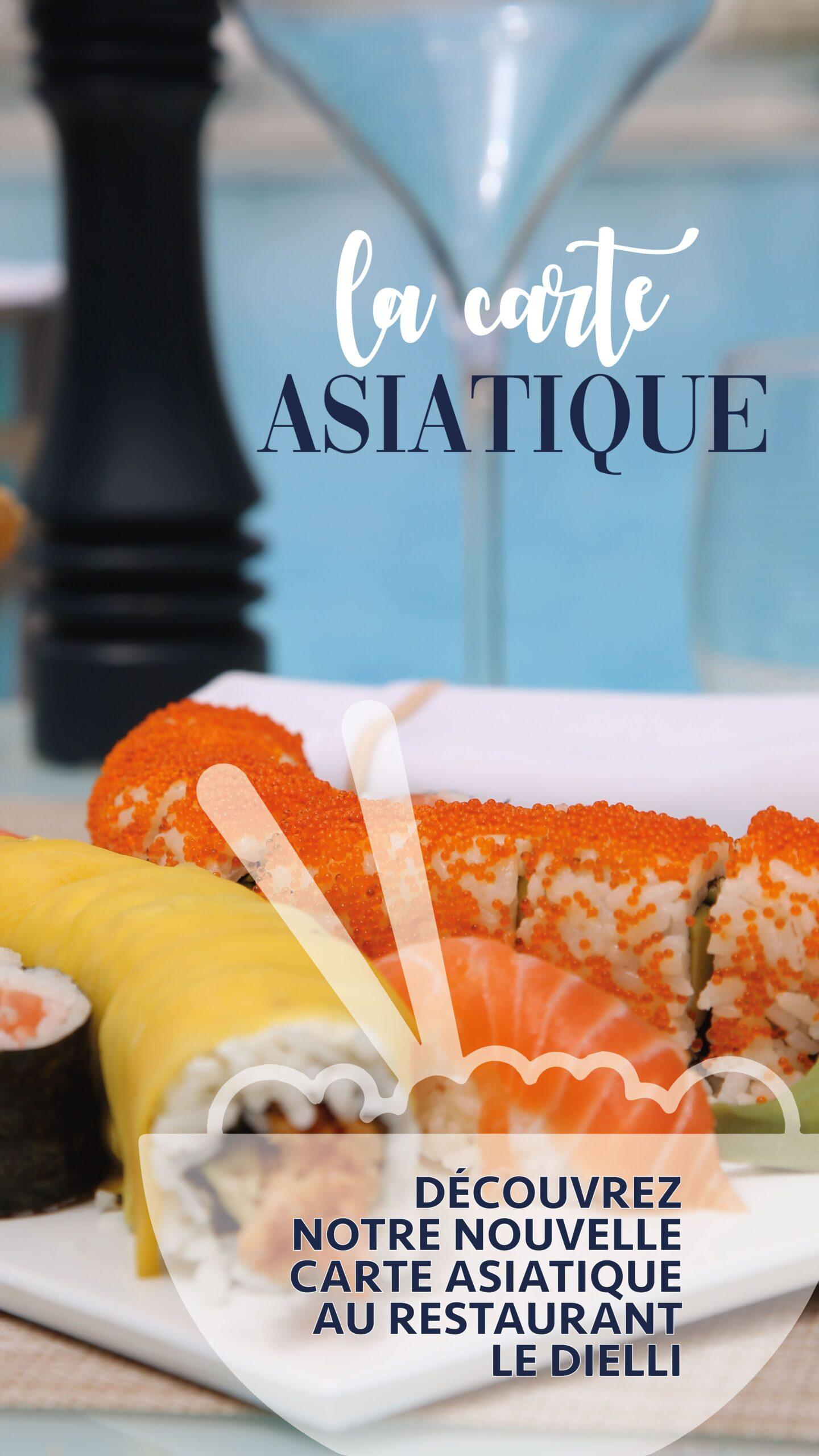 Vichy Célestins – Campagne restaurant asiatique
