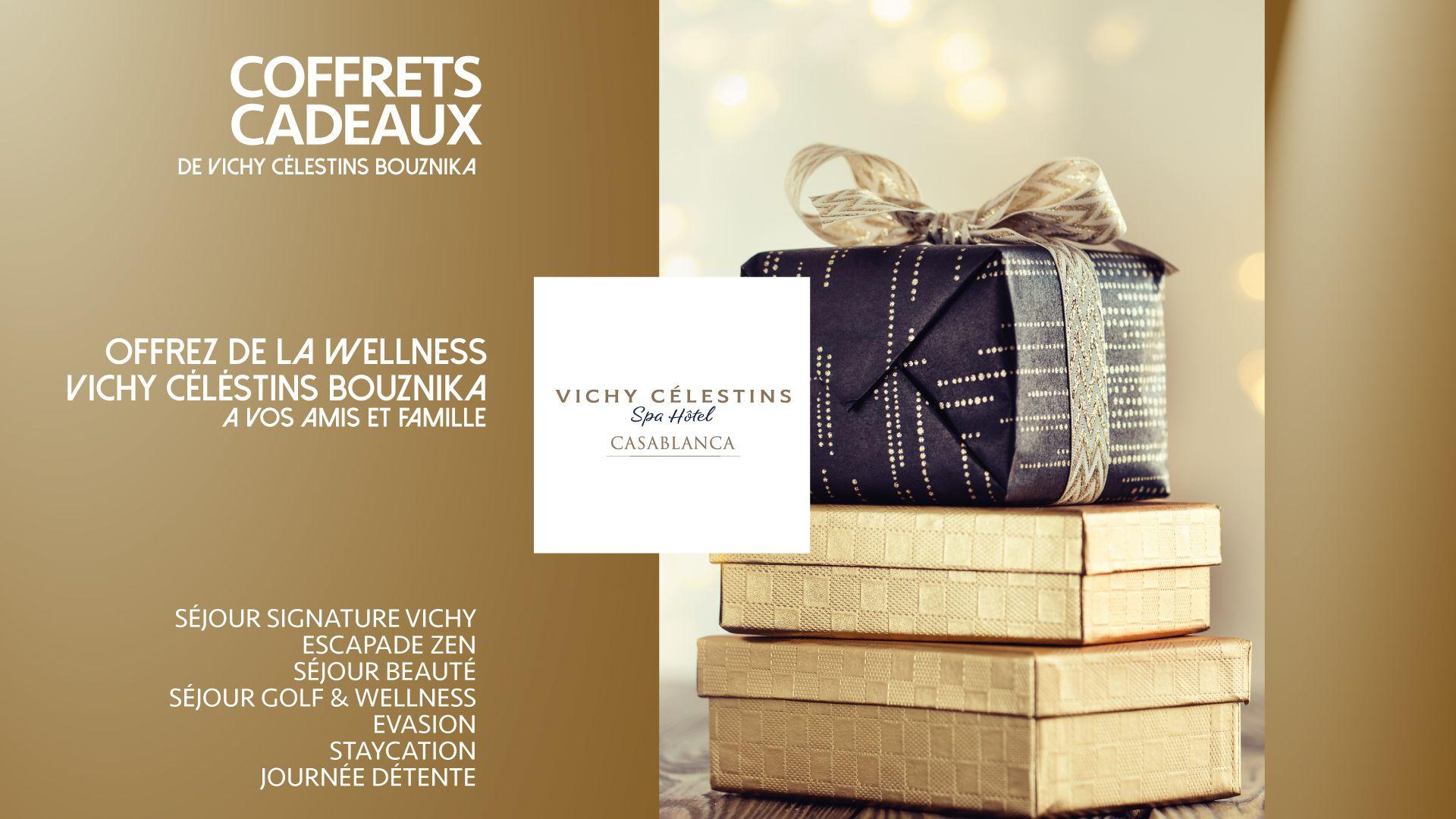 Vichy Célestins – Campagne coffrets cadeaux