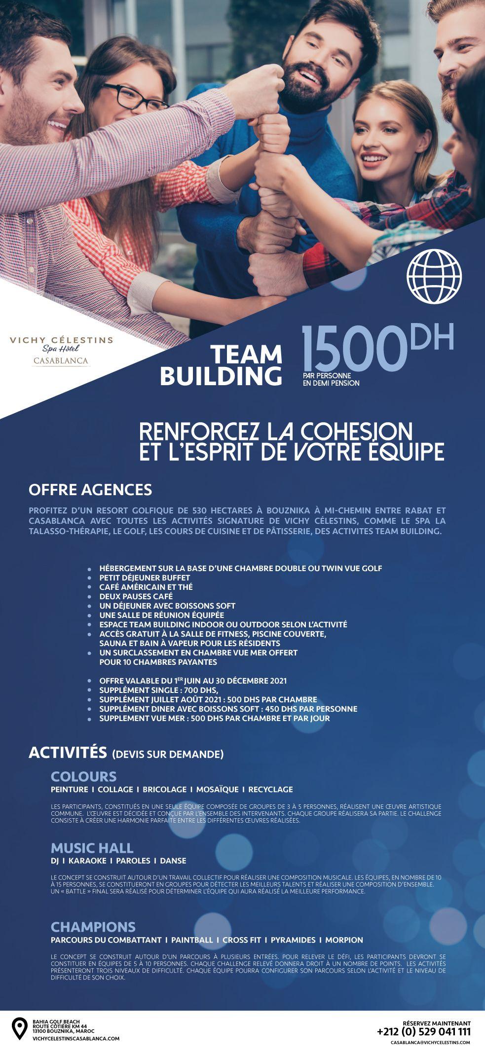 Vichy célestins – Team-Building
